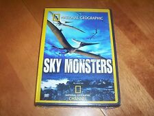 SKY MONSTERS Flying Dinosaurs Pterosaurs NATIONAL GEOGRAPHIC CHANNEL DVD NEW