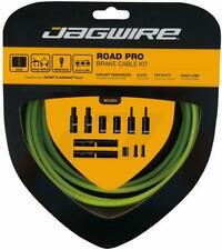 New Jagwire Road Pro Brake Cable Kit Slick Lube SRAM / Shimano Cannondale Green