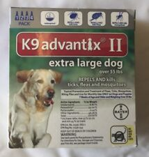 K9 advantix ll  extra large dog over 55 lbs 4 pack EPA approved product