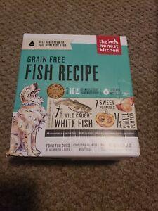 The Honest Kitchen Grain Free Dehydrated Fish Recipe Dog Food, 4 lbs. Box