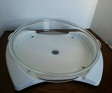 Thane Flavor Wave Deluxe Oven Glass Tray Bottom Replacement Part