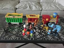 Fisher Price Little People Play Family Circus Train Vintage