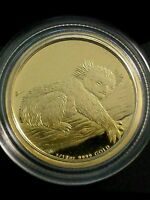 2012 Koala Gold Proof coin 1/10oz Australia Perth Mint 99.99% Pure. Low COA