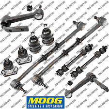 Moog Steering Kit Tie Rods Ball Joint Sway Bar Link For RWD Chevy Astro Van