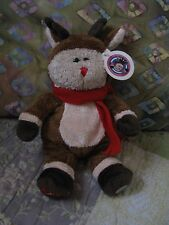 Starbucks Barista Bear - 2003 Rudolph the Red Nose Reindeer - New with Tags