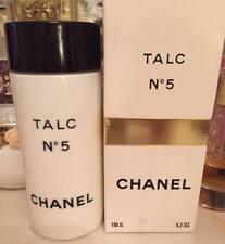 En Caja más allá Raro enorme 150g Chanel No5 Vintage PARFUM Talco Talco polvo de polvoreda