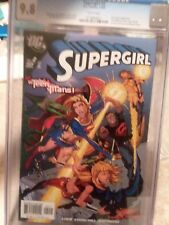 Supergirl #2 (Nov 2005, DC) CGC 9.8 TEEN TITANS APPEARANCE WHITE PAGES graded