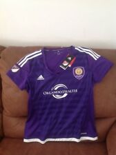 Adidas Orlando city sc  mls soccer jersey new with tags size L women