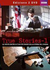 DvD TRUE STORIES 1 La verita dietro ai film famosi della storia del cinema 2 DvD