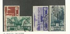 Eritrea (Italy), Postage Stamp, #161-164 Used, 1934