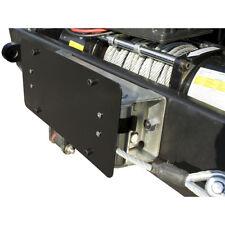 Winch Roller Fairlead License Plate Holder Mount for Jeep CJ XJ Wrangler JK TJ