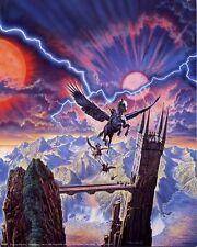 Pegasus Warriors: Beautiful 8x10 In. Fantasy Art Print
