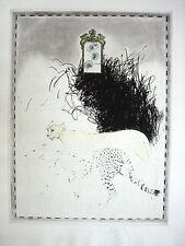 Donald saff-Leopard, cromolitografía-autografiado, autografiada, num. - VK: 800 euros