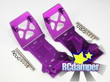 ALUMINUM FRONT & REAR LOWER SKID PLATE P FOR HPI MINI SAVAGE XS FLUX ALLOY