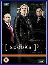 SPOOKS COMPLETE EIGHTH BBC SERIES 8 -BRAND NEW & SEALED