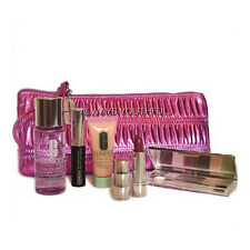 CLINIQUE 6 Piece Pink Metallic Bonus Gift Set