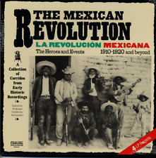 Mexican Revolution SEALED LP Historic Corridos 1910-20