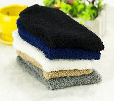 6Pairs Man Bed Socks Pure Fluffy Thick Warm Winter Soft Floor Home Foot Clothing