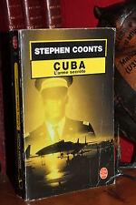 Stephen Coonts CUBA L'ARME SECRETE Livre de Poche N° 17296