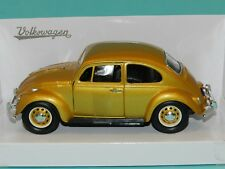 Road Signature 1/24 1967 Volkswagen Beetle Gold  MIB