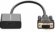 HDMI Female to VGA Adapter, Ugreen 1080P Active HDMI Female to VGA Male with