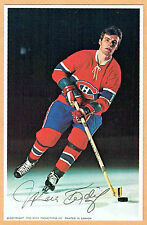 1969-71 Canadiens (Pro Star Promotions) Team Issued Postcard, Marc Tardif, NrMt