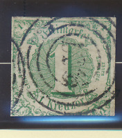 Thurn and Taxis Stamp Scott #47, Used