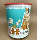 Tupperware Canister 8 Cup 'B' Christmas Gingerbread House #2420 New