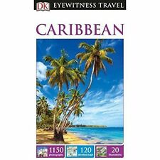 DK Eyewitness Travel Guide Caribbean, DK, New Book