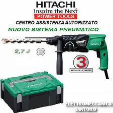 MARTELLO TASSELLATORE HITACHI DH24PH DA 730 WATT 3 MODALITA' SDS PLUS + MANDRINO