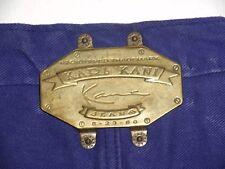 True Vintage Rare Karl Kani Hip Hop Button fly Baggy Loose Jeans Sz 30X30
