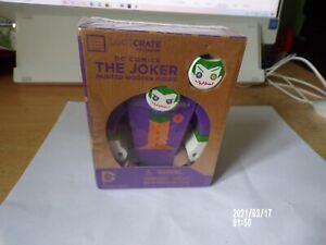 Loot Crate Exclusive DC Comics The Joker Painted Wooden Figure New