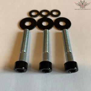 Harley Ritzelabdeckung Schrauben Schwarz V-Rod® Night Rod Special® Muscle® 2002+