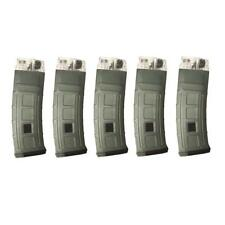 RAP4 T68 468 DMag D-Mag Helix 20rd Round Paintball Magazine - Olive Green 5 Pack
