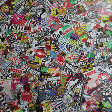 "60"" x 20"" Panda JDM CARTOON Car Sticker GRAFFITI BOMB WRAP SHEET DECAL STICKER"