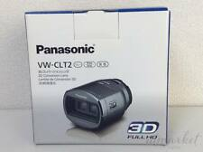 PANASONIC VW-CLT2-H 3D Conversion Lens Full HD metallic gray  Camcorder
