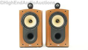 B&W Bowers and Wilkins Nautilus 805 Bookshelf Standmount Speakers - Audiophile