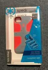 Speck CandyShell GRIP- iPhone 4/4s- Gray/ Orange (Retail Packaging)