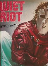 QUIET RIOT metal health HOLLAND 1983 EX+	 LP   (LP2572)