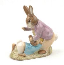 Beswick Beatrix Potter Figurine - Mr. Benjamin Bunny & Peter Rabbit BP-3c