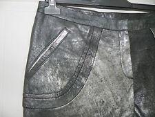 Superbe Pantalon Cuir Martine Sitbon Neuf 42/ trousers New leather