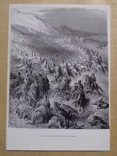 #) 21) HISTOIRE DES CROISADES - croisés enveloppés par musulmans - Gustave Doré