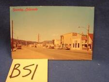B51 VINTAGE POSTCARD GRANBY COLORADO PHOTO OF TOWN POSTMARKED 1968