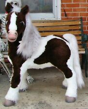 2007 Furreal S'MORES PONY Pinto Horse Interactive Toy With Harness Carrot Brush