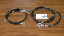 MADE IN USA Spring Ring Battery Cables 69 Camaro Small Block  Z28 Top Post pair