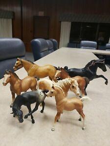 VINTAGE LOT of 7 Horses - Breyer Molding Co
