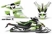 Snowmobile Graphics Kit Sled Decal Wrap For Arctic Cat Z1 Turbo 06-12 CARBONX G