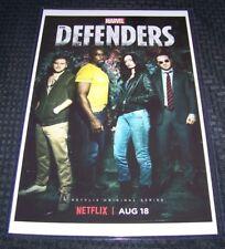 The Defenders 11X17 Netflix Poster Daredevil Luke Cage Jessica Jones Iron Fist