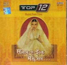 MUJRAS FROM FILMS - TOP 12 - BRAND NEW SOUND TRACK CD SONGS - FREE UK POST
