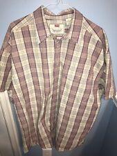 VGC Vintage LEVI'S Check Shirt | Mens XL | Western Cowboy Retro Plaid